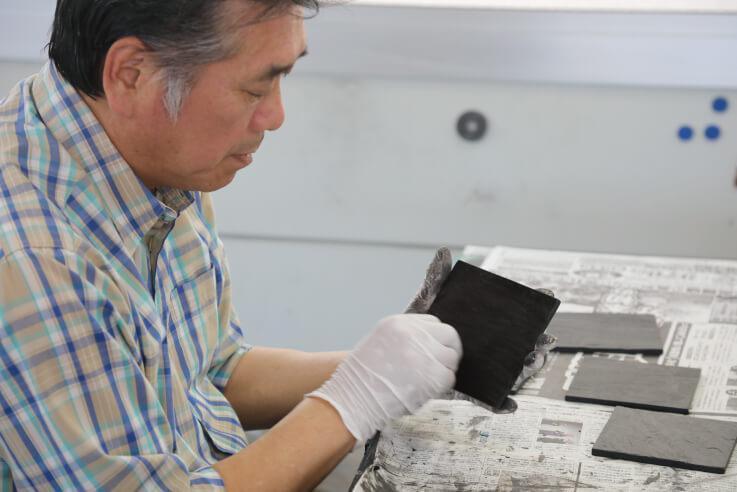 「海馬ガラス工房」の独自の技術